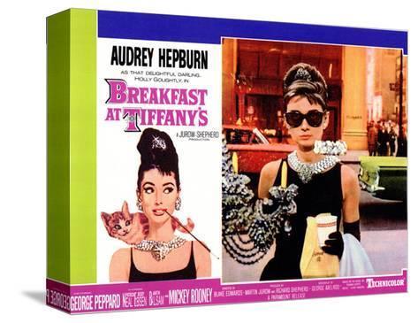 Breakfast At Tiffany's, 1961 Impressão em tela esticada