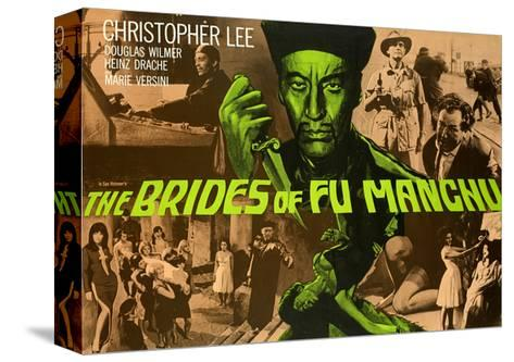 Brides of Fu Manchu (The) Stretched Canvas Print
