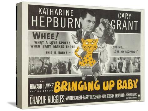 Bringing Up Baby, 1938 Stretched Canvas Print