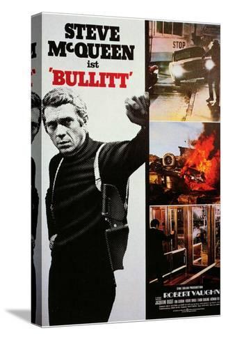 Bullitt, 1968 Stretched Canvas Print