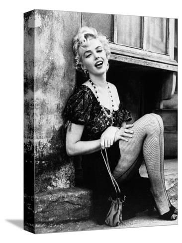 Bus Stop, Marilyn Monroe, Directed by Joshua Logan, 1956 Stretched Canvas Print