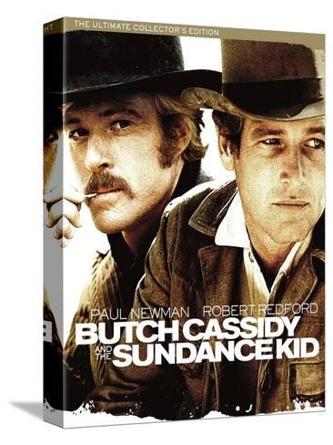 Butch Cassidy and the Sundance Kid, 1969 Stretched Canvas Print