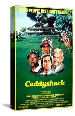 Caddyshack Stretched Canvas Print