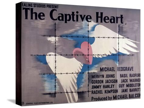 Captive Heart (The) Stretched Canvas Print