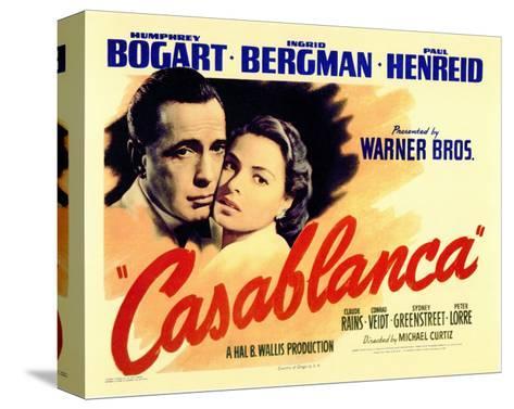 Casablanca, 1942 Stretched Canvas Print