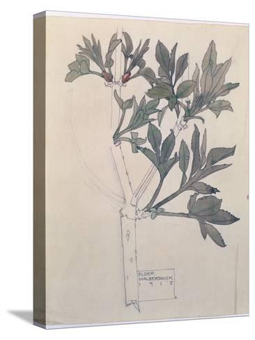 Elder, Walberswick, 1915 Reproducción de lámina sobre lienzo