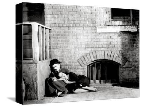 Charlie Chaplin, Paulette Goddard.