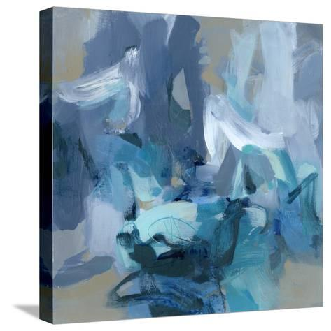 Charlotte Blue Stretched Canvas Print