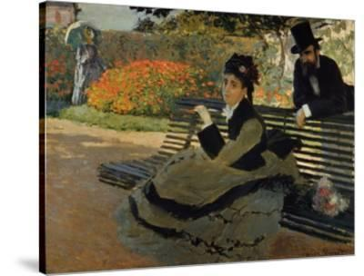 Swell Camille Monet On A Garden Bench Gamerscity Chair Design For Home Gamerscityorg