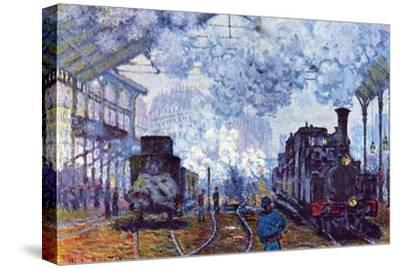 Train in the Countryside by Claude Monet 19th Century French Landscape Canvas Wall Art Print Various Sizes Available