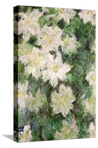 White Clematis, 1887 Reproducción de lámina sobre lienzo