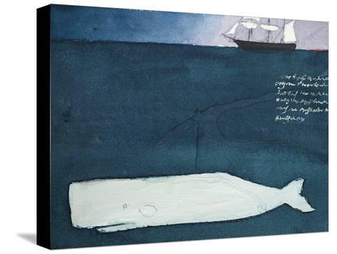 Moby Dick Reproducción de lámina sobre lienzo
