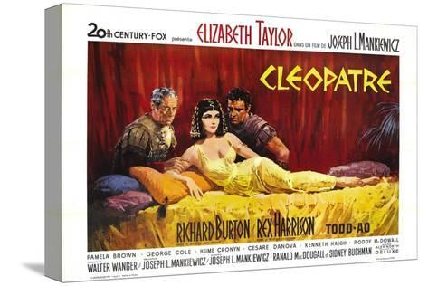 Cleopatra, 1963 Stretched Canvas Print