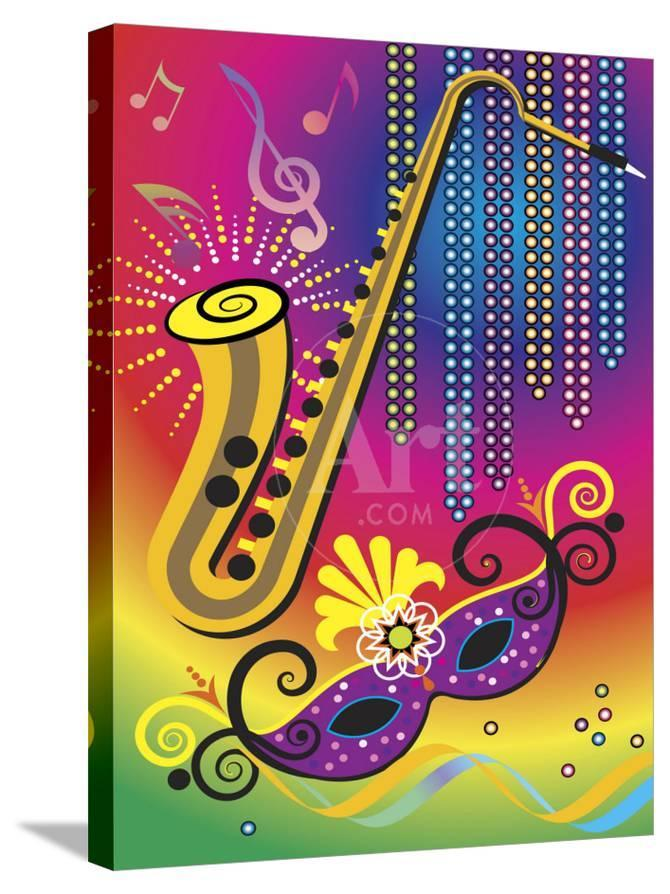 Colorful Symbols Of Mardi Gras Photo At Allposters