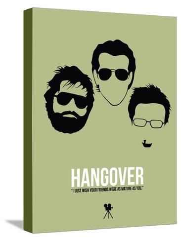 Hangover Stretched Canvas Print