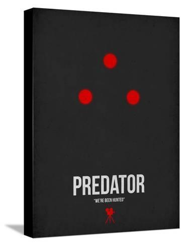 Predador Impressão em tela esticada
