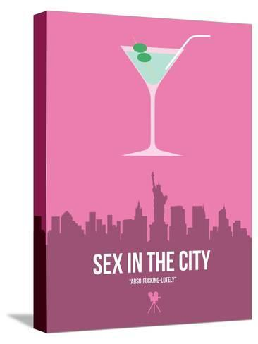 Sex and the City Stretched Canvas Print