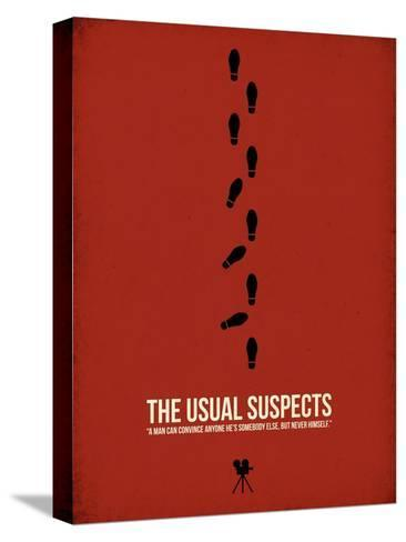 The Usual Suspects Stretched Canvas Print