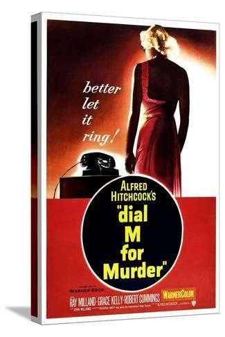Dial M for Murder, 1954 Stretched Canvas Print