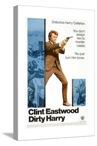 Dirty Harry, 1971 Reproducción de lámina sobre lienzo