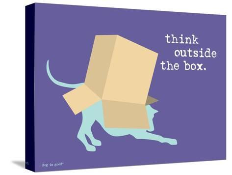 Think Outside Box Stampa su tela