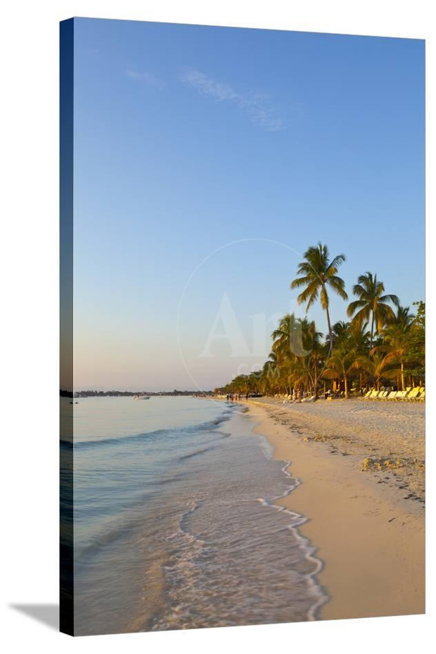 Idyllic White Sand Beach Negril Jamaica Photographic Print By Doug Pearson At Allposters