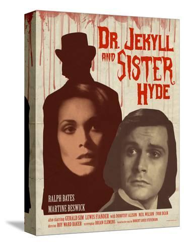 Dr. Jekyll and Sister Hyde 1971 (Blood) Stretched Canvas Print