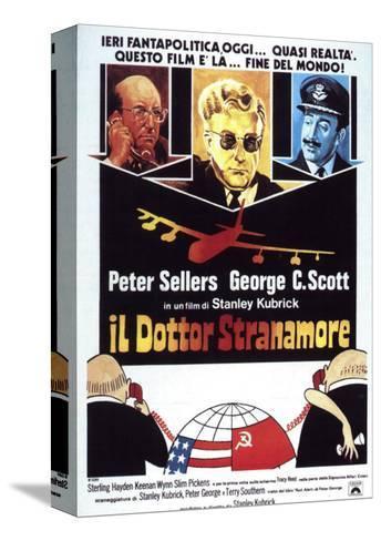 Dr. Strangelove, Italian Movie Poster, 1964 Stampa su tela