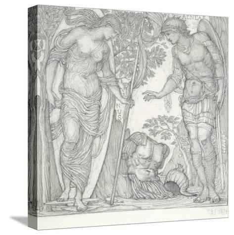 Venus Bringing Armour to Aeneas, 1874 Reproducción de lámina sobre lienzo
