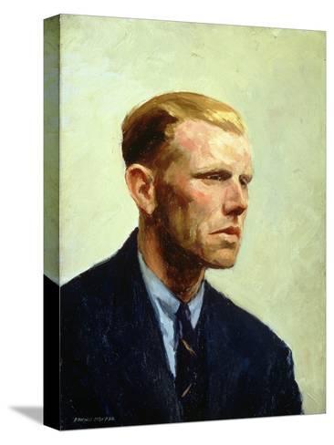 Portrait of a Man Reproducción de lámina sobre lienzo