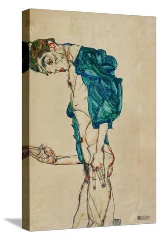 Preacher (Self-Portrait), 1913 Pingotettu canvasvedos