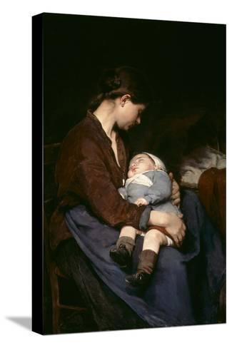La Mere, 1888 Stretched Canvas Print
