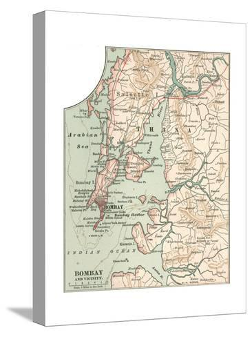 Map of Bombay (C. 1900), Maps Giclee Print by Encyclopaedia ...