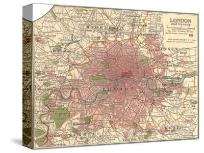 Plate 5. Inset Map of London Giclee Print by Encyclopaedia ...