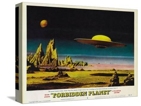 Forbidden Planet, 1956 Stretched Canvas Print