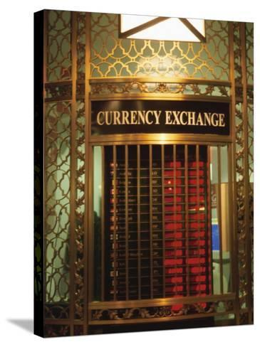 Foriegn Currency Exchange Window Showing Rates New York City America Photographic Print At Allposters