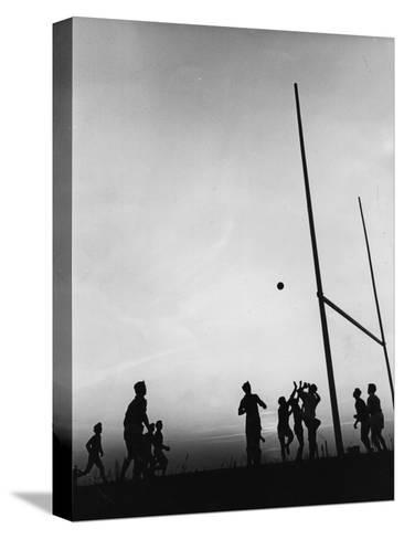 Gaelic Football Pingotettu canvasvedos