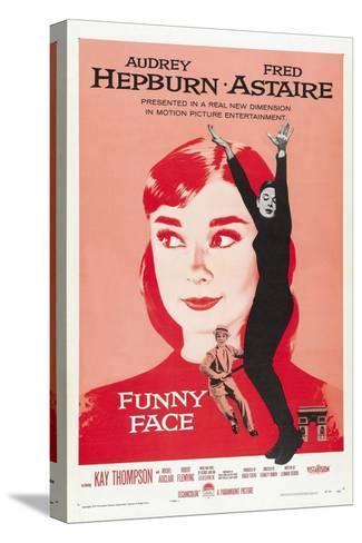 Funny Face, Directed by Stanley Donen, 1957 Stretched Canvas Print