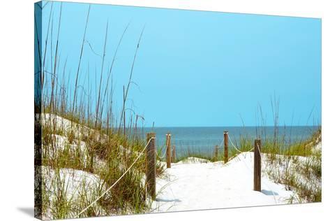 Beach Life I Poster Print by Gail Peck 24 x 24