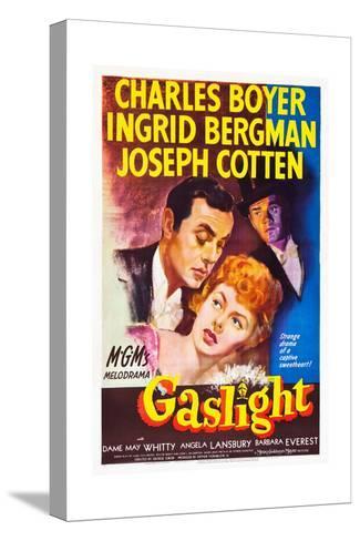 Gaslight, Charles Boyer, Ingrid Bergman, Joseph Cotten, 1944 Stretched Canvas Print