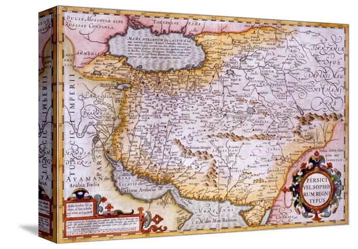 Map Of Persia 1638 Giclee Print By Gerardus Mercator At Allposters Com