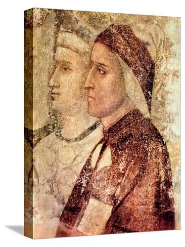 Paradise, Detail of Dante Alighieri (1265-1321) c.1336 Reproducción de lámina sobre lienzo