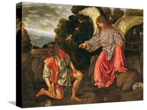 Tobias and the Angel, c.1530 Reproducción de lámina sobre lienzo
