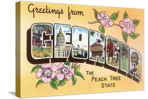 Greetings from georgia the peach tree state giclee print at greetings from georgia the peach tree state giclee print at allposters m4hsunfo