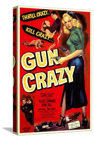 Gun Crazy, 1949 Stretched Canvas Print