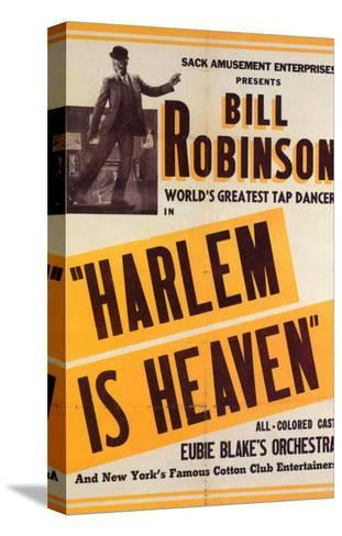 Harlem Is Heaven, 1932 Stretched Canvas Print