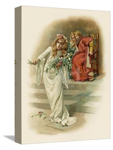 Hamlet Ophelia Crazed Giclee Print By Harold Copping At Allposters Com