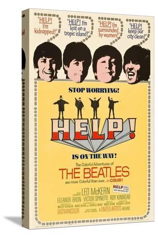 Help!, 1965 Sträckt kanvastryck