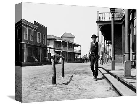 High Noon, 1952 Stretched Canvas Print
