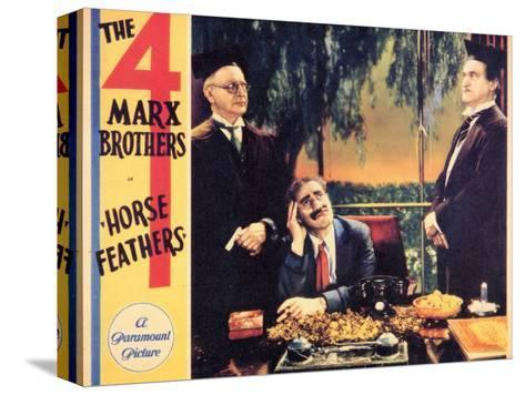 Horse Feathers, 1932 Reproducción de lámina sobre lienzo